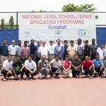 NATIONAL LEVEL OFFICIATING SCHOOL HELD AT AATA COMPLEX.