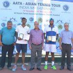 PRIZE DISTRIBUTION OF ASIAN TENNIS TOUR - M9